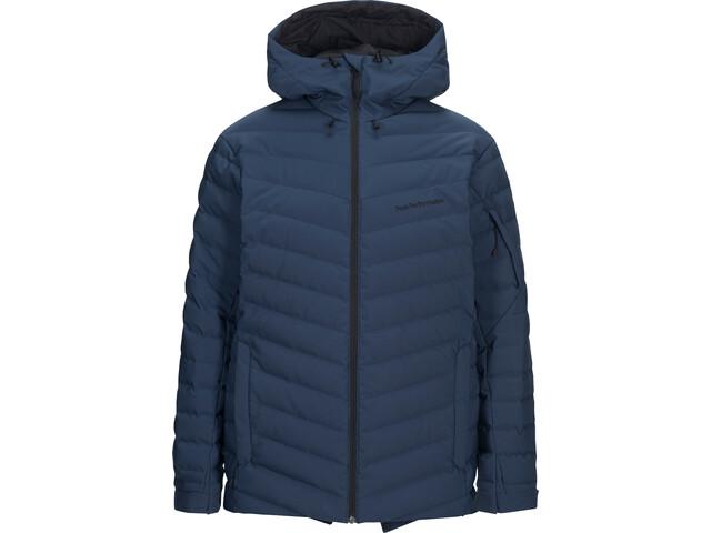 Peak Performance Frost Ski Takki Miehet, decent blue